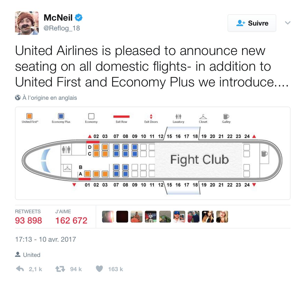 Communication de crise United Airlines (2)