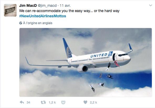Communication de crise United Airlines (6)