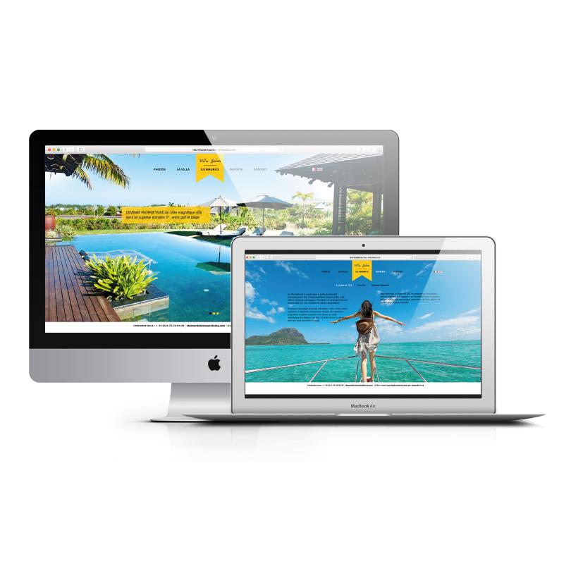 Site Web Villa Soléa - Bridge Communication