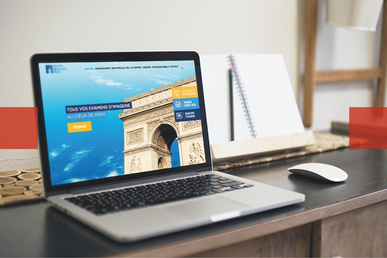 Création de site web - Institut de radiologie de Paris