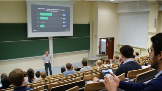Wooclap, start-up enseignement supérieur l Bridge Communication