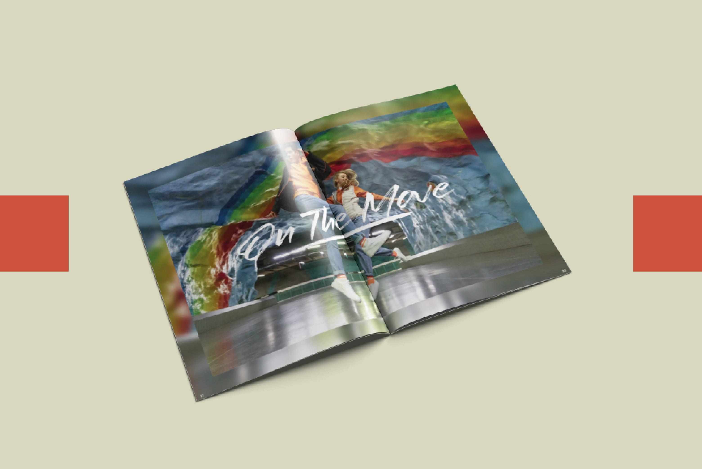 Book de marque mode Canadian Peak l Bridge Communication