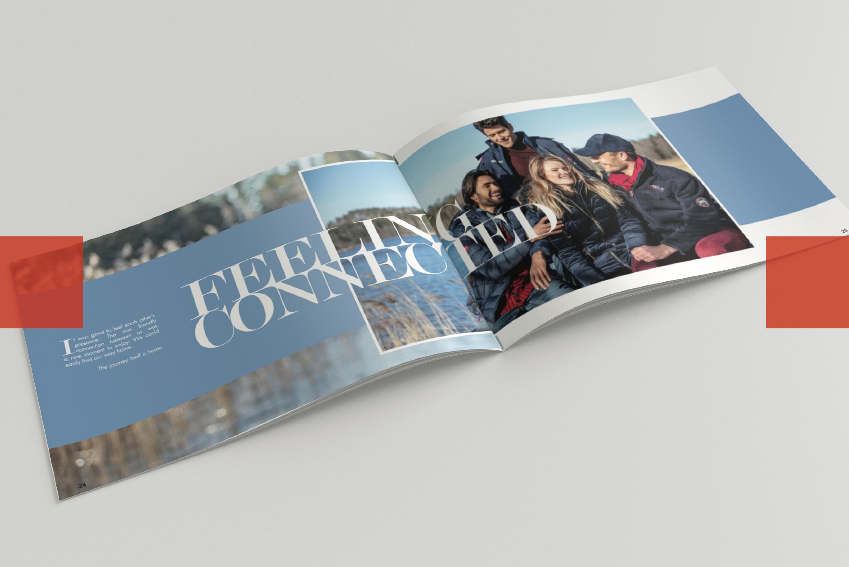 Book de marque mode Geographical Norway l Bridge Communication
