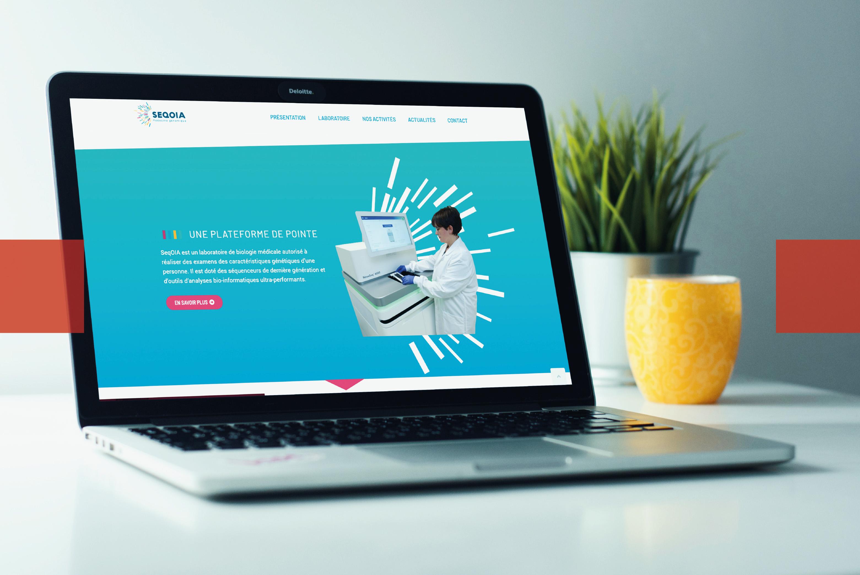 Webmarketing Laboratoire SeqOIA l Bridge Communication