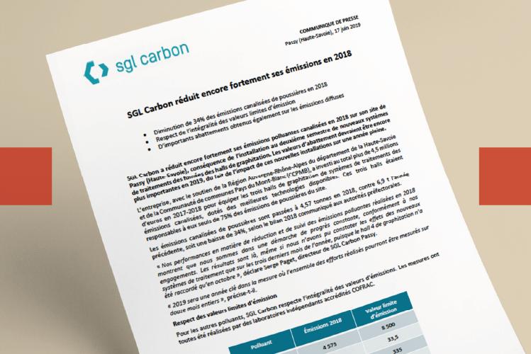 Relations Presse SGL Carbon l Bridge Communication