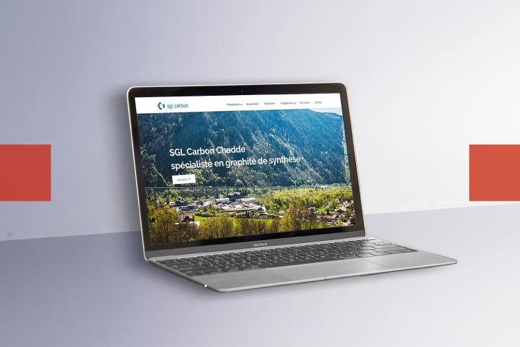 Developpement web SGL Carbon l Bridge Communication
